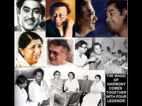 Kaise Dekhu Meri Aankho Ke Lyrics - Kishore Kumar, Lata Mangeshkar