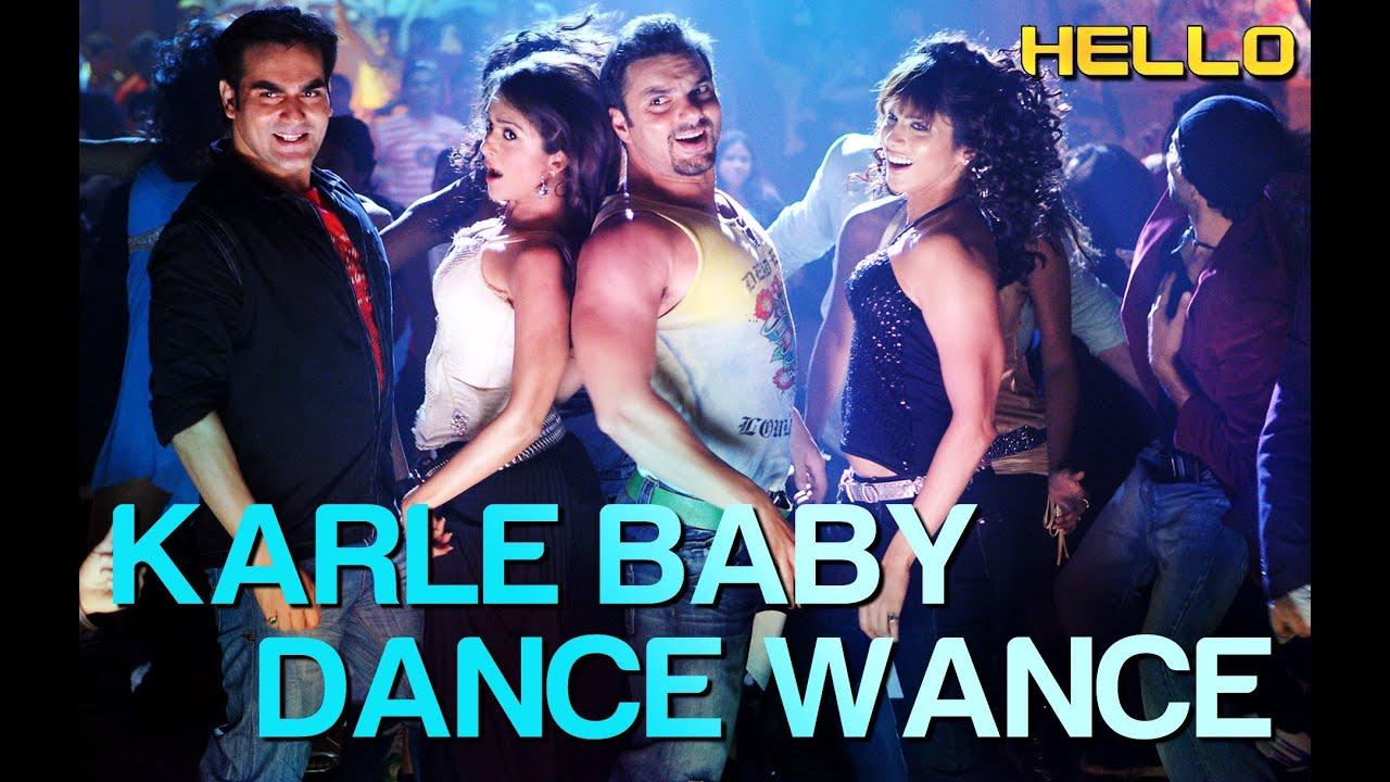 Karle Baby Dance Wance Lyrics - Daler Mehndi, Sunidhi Chauhan