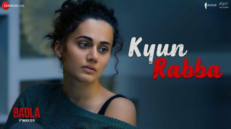 Kyun Rabba Lyrics - Armaan Malik