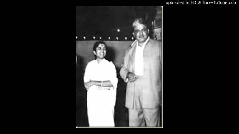 Laga Hai Kuch Aisa Nishana Lyrics - Lata Mangeshkar, Ramchandra Narhar Chitalkar (C. Ramchandra)