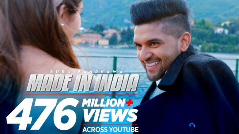 Made In India (Title) Lyrics - Guru Randhawa
