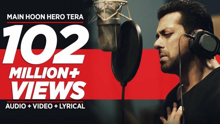 Main Hoon Hero Tera Lyrics - Salman Khan