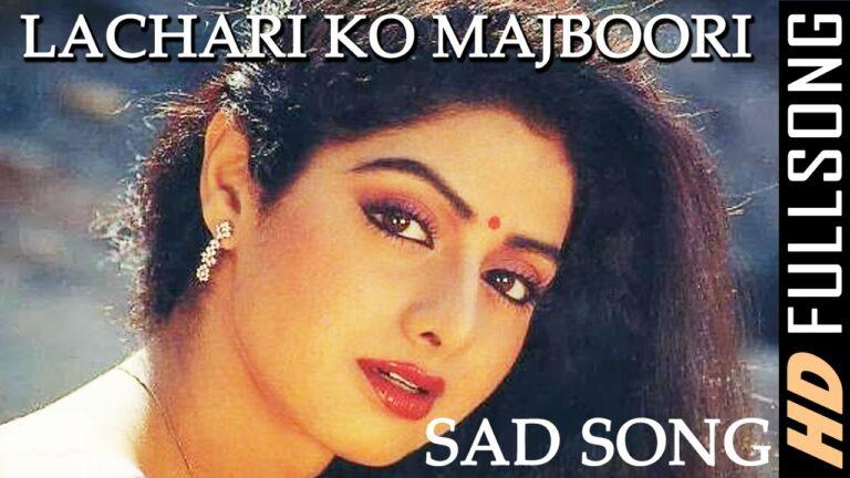Majboori Ko Lyrics - Asha Bhosle