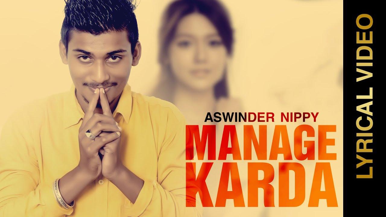 Manage Karda (Title) Lyrics - Ashwinder Nippy