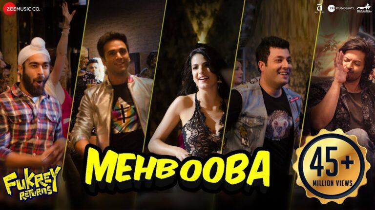 Mehbooba Lyrics - Neha Kakkar, Yasser Desai