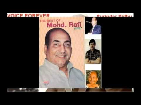 Mehfil Nahi To Dil Me Sahi Lyrics - Mohammed Rafi, Prabodh Chandra Dey (Manna Dey)