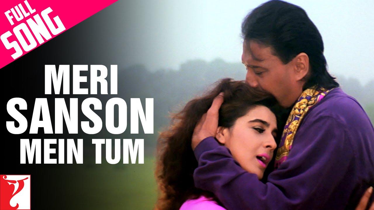 Meri Saanson Mein Tum Lyrics - Kumar Sanu, Lata Mangeshkar