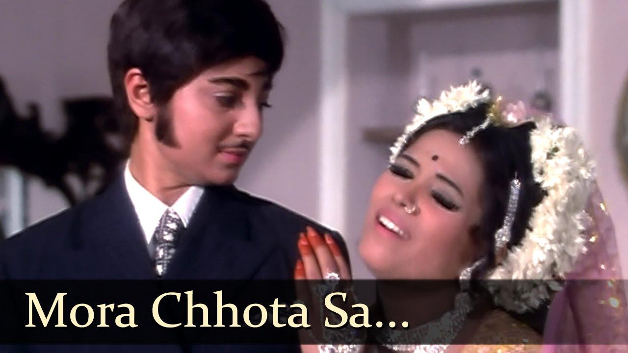 Mora Chota Sa Lyrics - Lata Mangeshkar