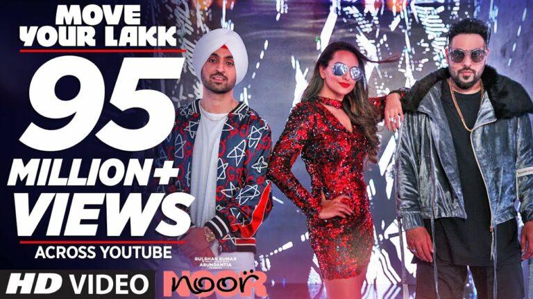 Move Your Lakk Lyrics - Badshah, Diljit Dosanjh, Sonakshi Sinha