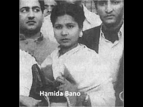 Mujhe Kare Sanam Badnaam Lyrics - Hamida Banu