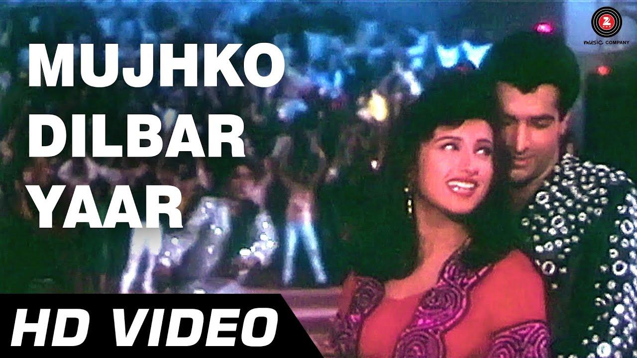 Mujhko Dilbar Yaar Lyrics - Alisha Chinai, Vinod Rathod