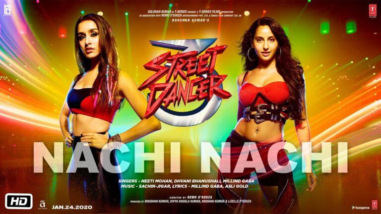 Nachi Nachi Lyrics - Dhvani Bhanushali, Millind Gaba (MG), Neeti Mohan