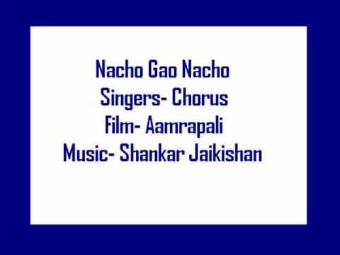 Nacho Gao Nacho Dhoom Machao Lyrics - Chorus
