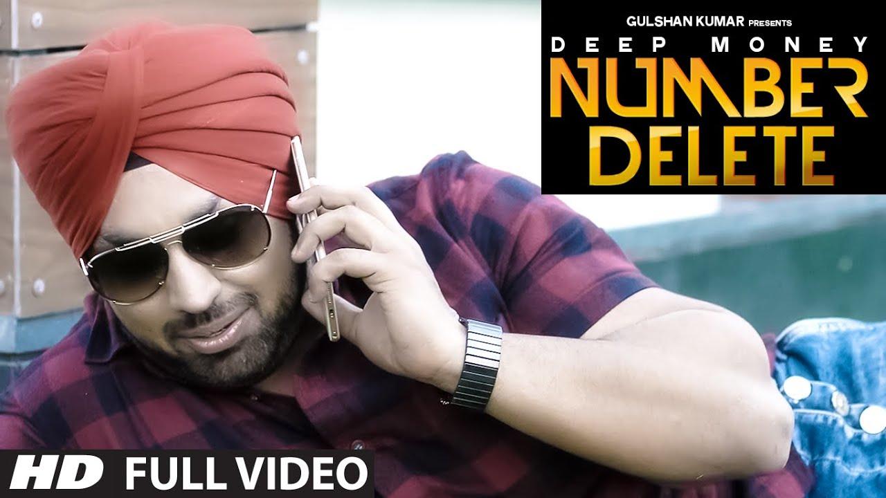 Number Delete (Title) Lyrics - Deep Money