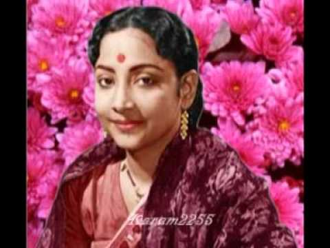 O Chanda Badal Mein Lyrics - Geeta Ghosh Roy Chowdhuri (Geeta Dutt)