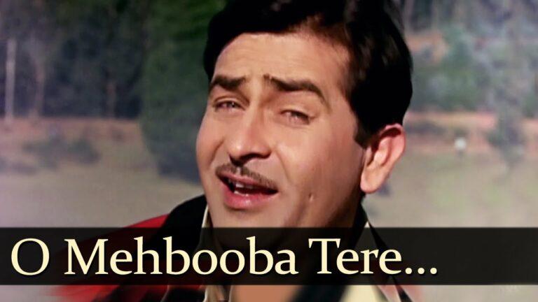 O Mehbooba Tere Dil Ke Paas Hi Hai Lyrics - Mukesh Chand Mathur (Mukesh)