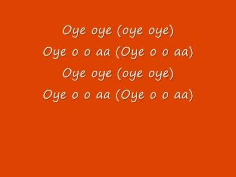 Oye Oye Lyrics - Sunidhi Chauhan