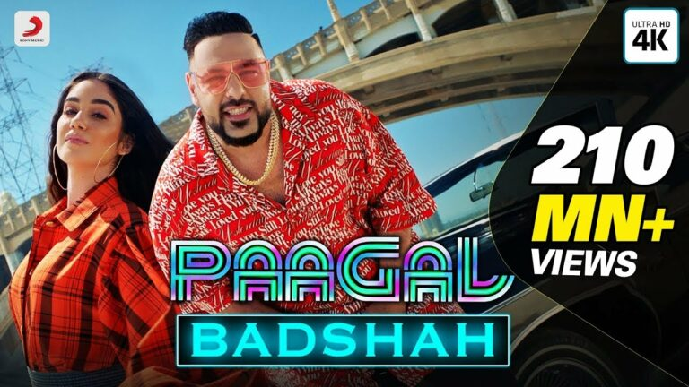 Paagal (Title) Lyrics - Badshah