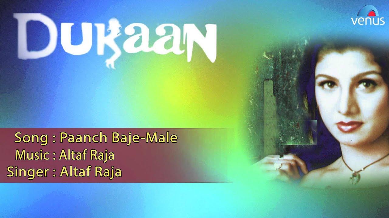 Paanch Baje Lyrics - Altaf Raja