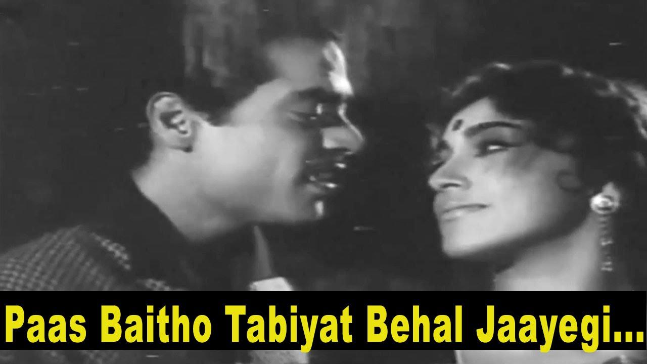 Paas Baitho Lyrics - Mohammed Rafi