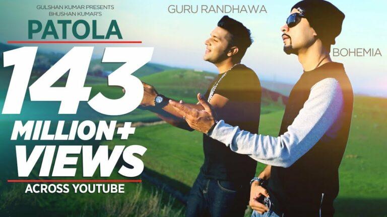 Patola (Title) Lyrics - Guru Randhawa, Bohemia