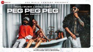 Peg Peg Peg (Title) Lyrics - Manj Musik, Raftaar