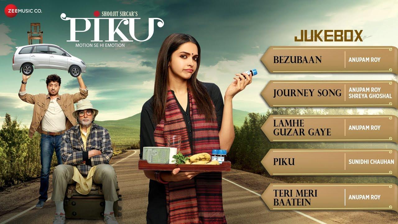 Piku (Title) Lyrics - Sunidhi Chauhan