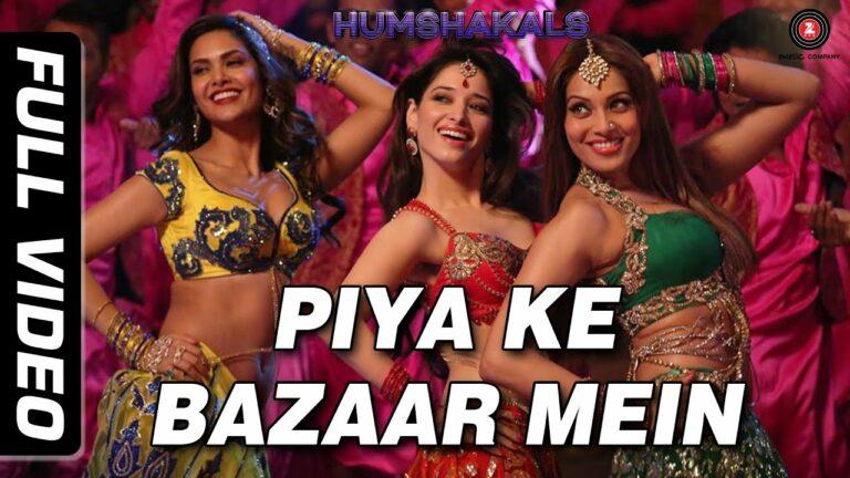 Piya Ke Bazaar Mein Lyrics - Himesh Reshammiya, Palak Muchhal, Shalmali Kholgade