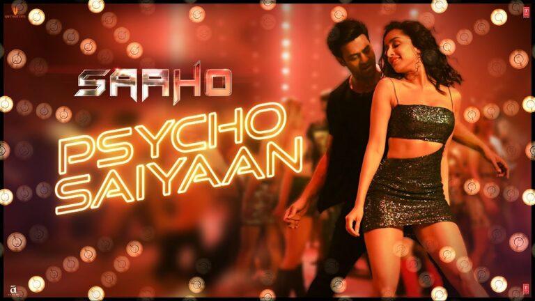 Psycho Saiyaan Lyrics - Dhvani Bhanushali, Sachet Tandon, Tanishk Bagchi