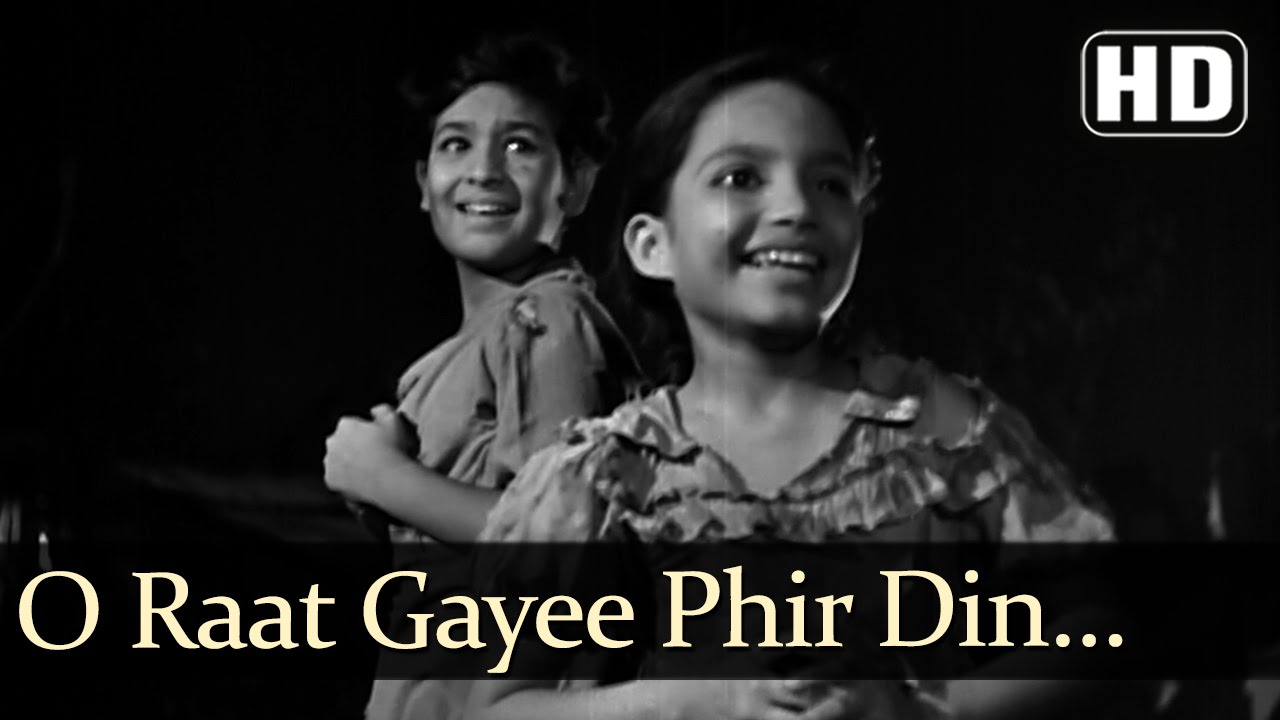 Raat Gayi Phir Din Aata Hai Lyrics - Asha Bhosle, Prabodh Chandra Dey (Manna Dey)