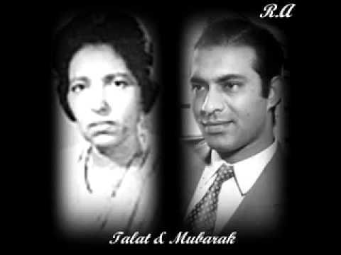 Raat Kitni Haseen Lyrics - Mubarak Begum, Talat Mahmood