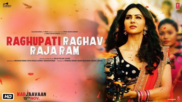 Raghupati Raghav Raja Ram Lyrics - Palak Muchhal