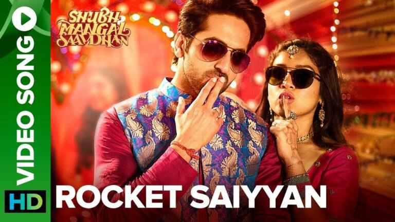Rocket Saiyyan Lyrics - Brijesh Shandilya, Ritika Sahni, Tanishk Bagchi