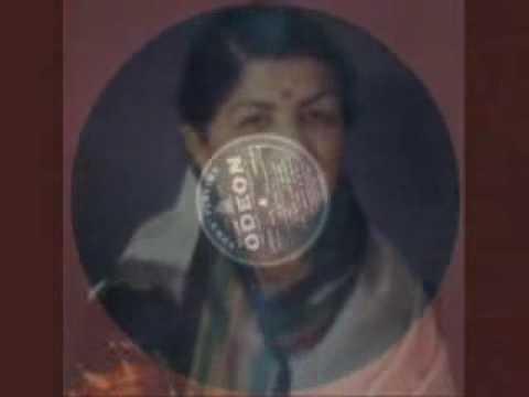 Rona Hi Likha Thha Kismat Mein Lyrics - Lata Mangeshkar