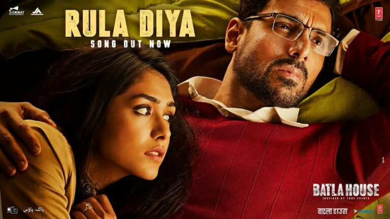 Rula Diya Lyrics - Ankit Tiwari, Dhvani Bhanushali