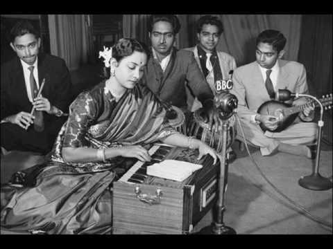 Sajaniya Jhoom Jhoom Kar Gaye Lyrics - Geeta Ghosh Roy Chowdhuri (Geeta Dutt)