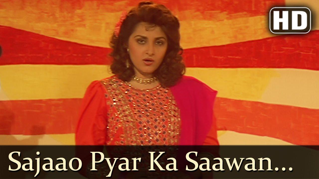 Sajao Pyar Ka Sawan Lyrics - Kavita Krishnamurthy, Sadhana Sargam