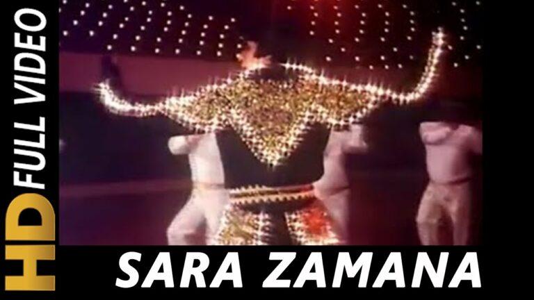 Sara Zamana Lyrics - Kishore Kumar