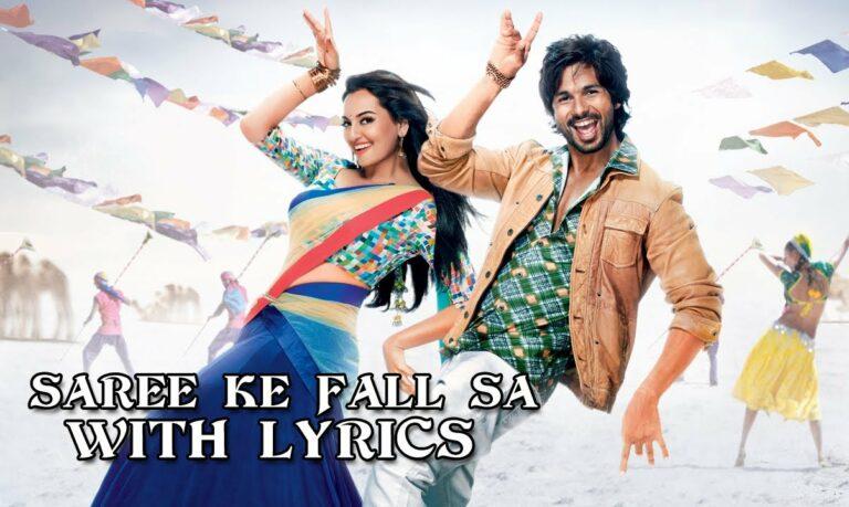 Sari Ke Fall Sa Lyrics - Antara Mitra, Nakash Aziz