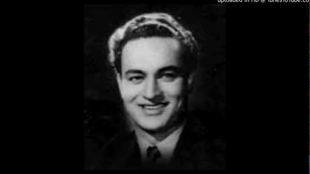 Shaam Se Aankh Mein Lyrics - Mukesh Chand Mathur (Mukesh)