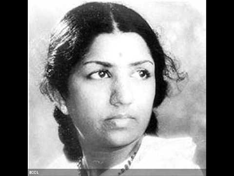 Shabnam Se Aaj Shola Lyrics - Lata Mangeshkar