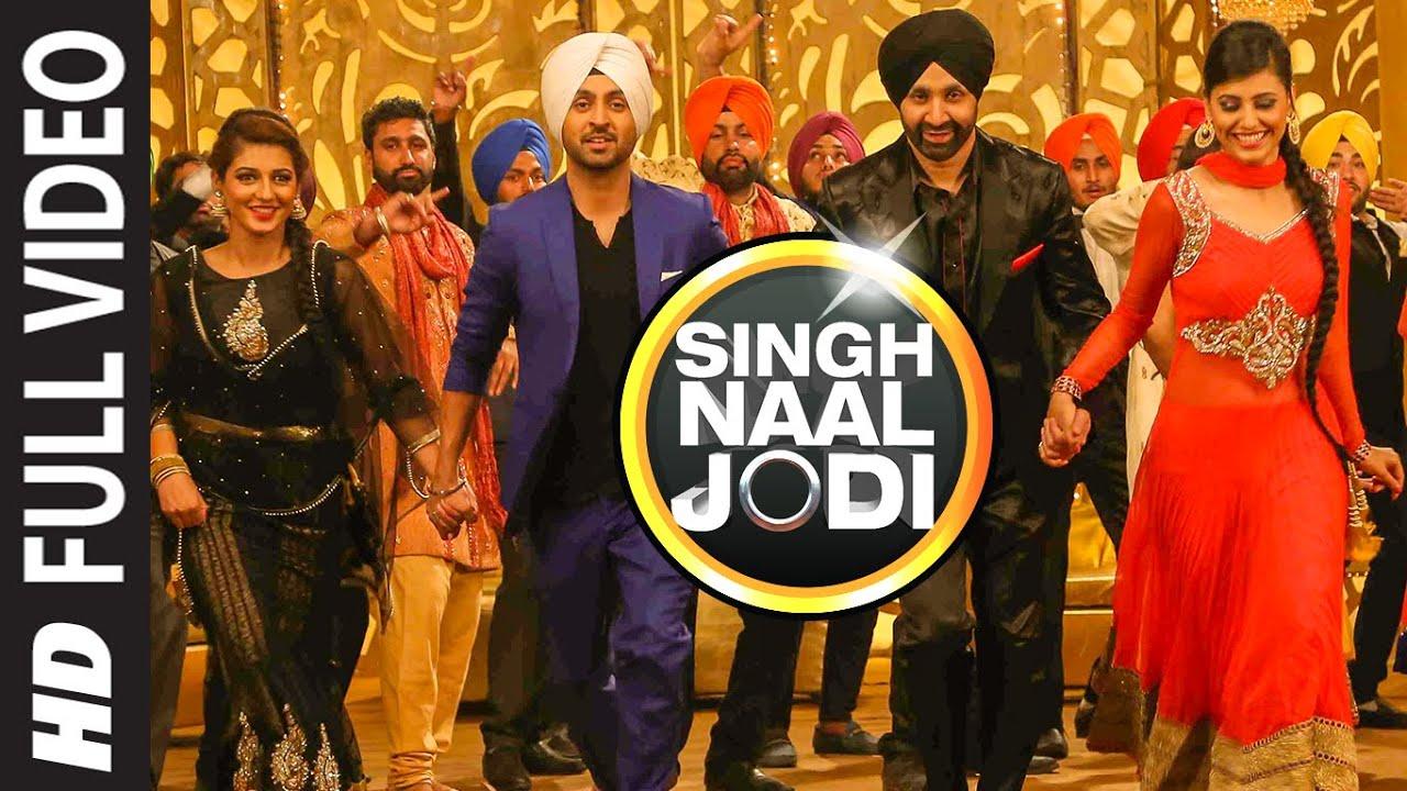 Singh Naal Jodi (Title) Lyrics - Diljit Dosanjh, Sukshinder Shinda