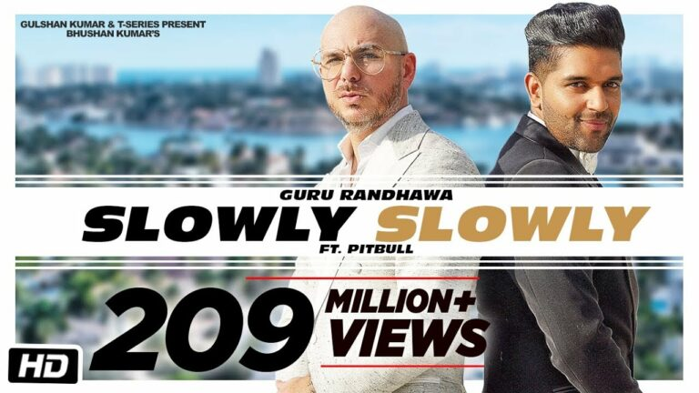 Slowly Slowly (Title) Lyrics - Guru Randhawa, Pitbull