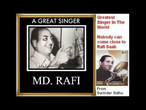 Soona Soona Laage Lyrics - Mohammed Rafi