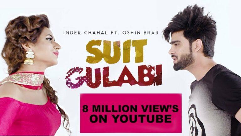 Suit Gulabi (Title) Lyrics - Inder Chahal, Smayra