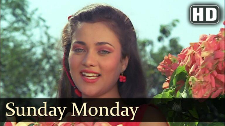 Sunday Monday Lyrics - Anuradha Paudwal, Mohammed Aziz