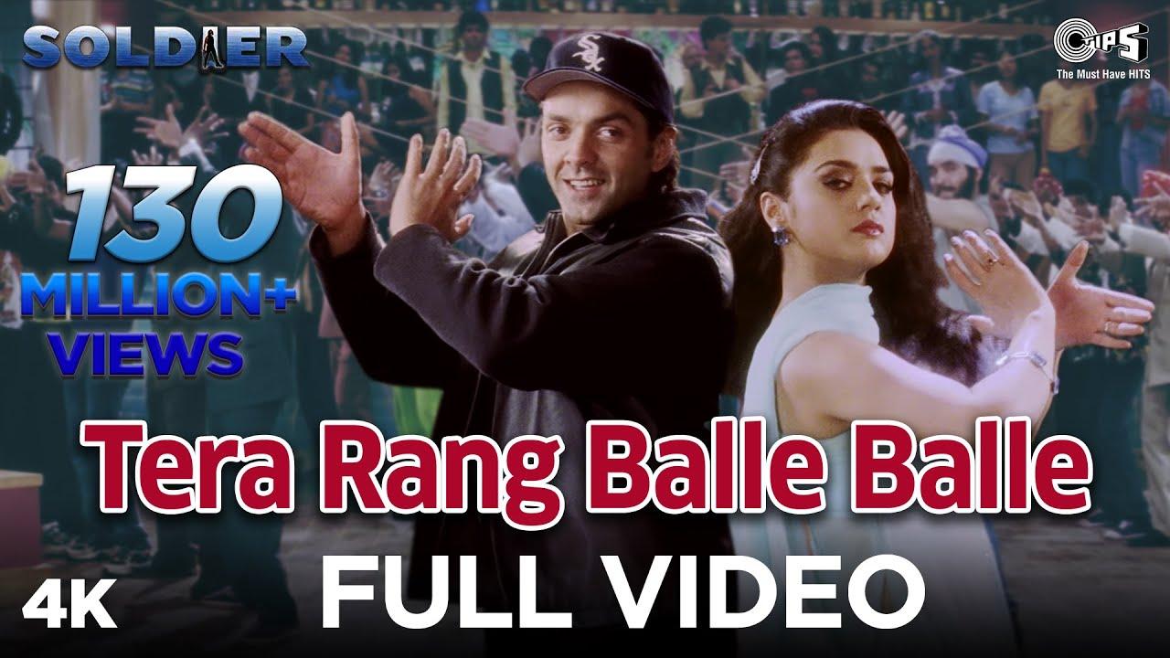 Tera Rang Balle Balle Lyrics - Jaspinder Narula, Sonu Nigam