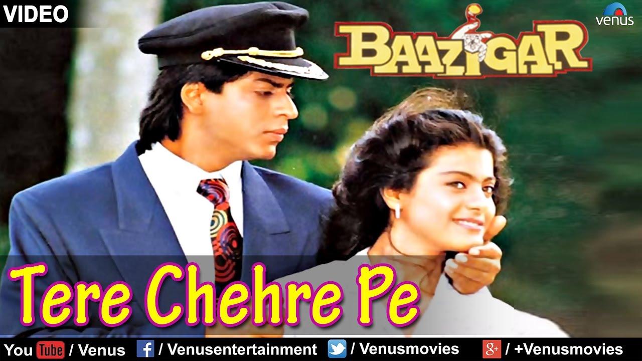 Tere Chehre Pe Lyrics - Kumar Sanu, Sonali Vajpayee