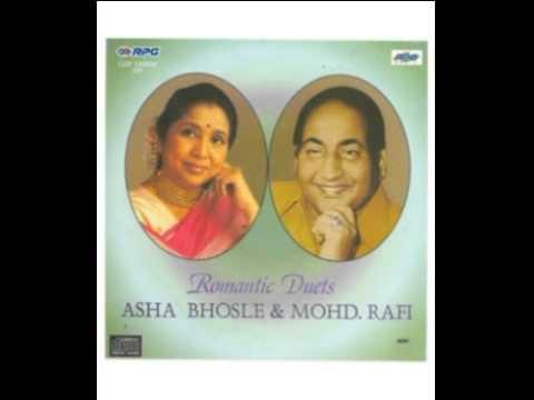 Tere Ghunghroo Jo Chham Chham Baaje Lyrics - Asha Bhosle, Mohammed Rafi