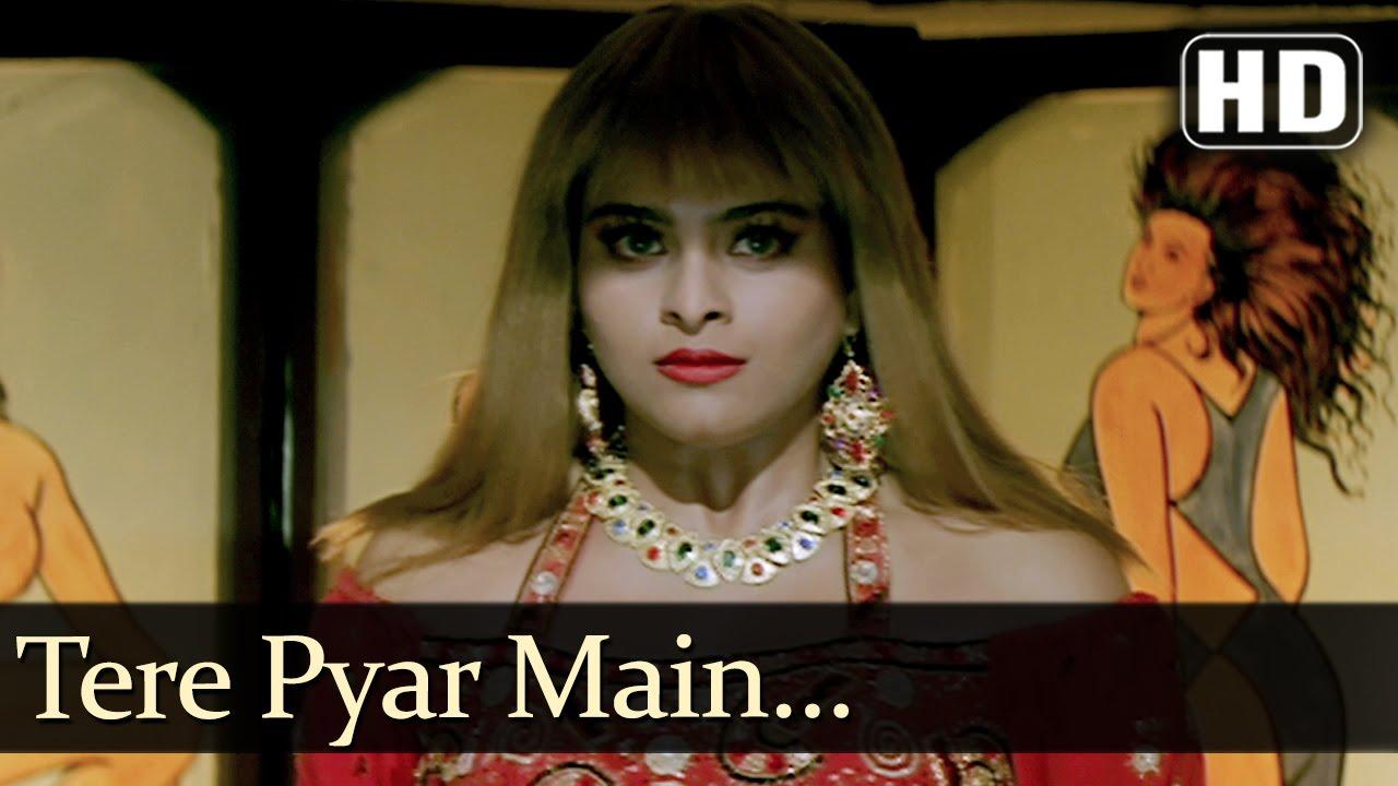 Tere Pyar Mein Lyrics - Alka Yagnik, Jolly Mukherjee